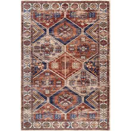 nuLOOM Transitional Vintage Area Rug - 5x8' in Multi - Closeouts