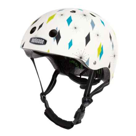 Nutcase Gen3 Bike Helmet (For Men and Women) in Diamond Daze Matte Street - Closeouts