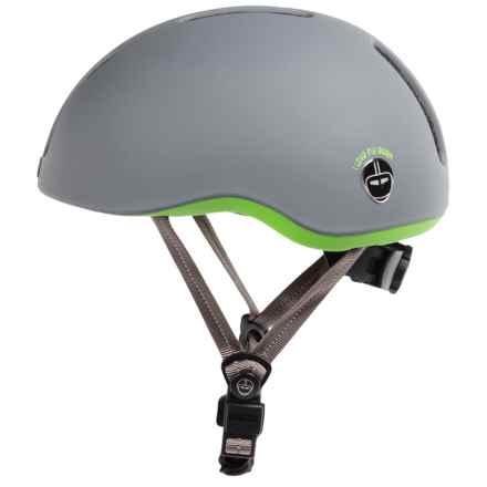 Nutcase Metroride Helmet (For Men and Women) in Sharkskin Matte - Closeouts