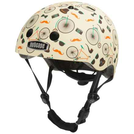 Nutcase Street Helmet (For Men and Women) in Vintage Velo Matte Street - Closeouts