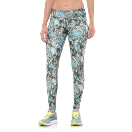 Nux Rio Leggings (For Women) in Feather Forest