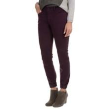 NYDJ Alina Twill Leggings (For Women) in Plum - Overstock
