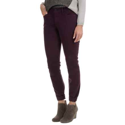 NYDJ Alina Twill Leggings (For Women) in Plum - Overstock