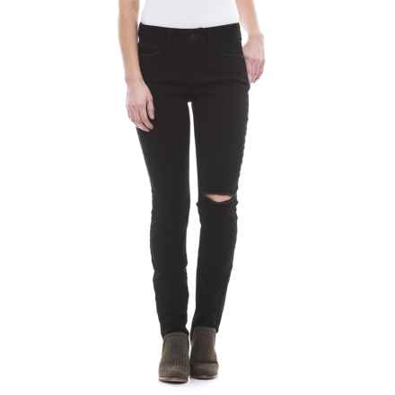 NYDJ Ami Distressed Skinny Denim Leggings (For Women) in Bloomsbury Slash - Closeouts