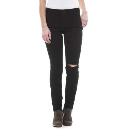 NYDJ Ami Distressed Skinny Denim Leggings (For Women) in Bloomsbury Slash