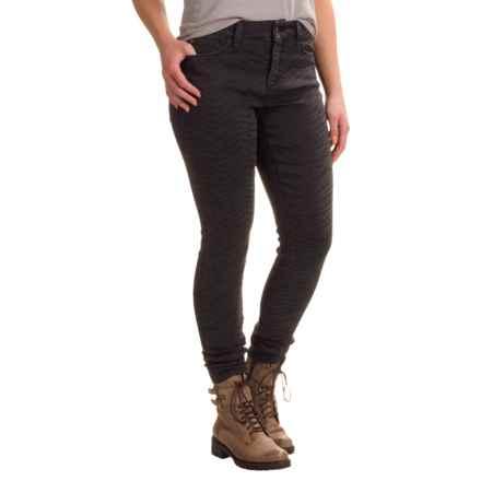 NYDJ Ami Stretch Super-Skinny Jeans - Zebra Pattern (For Women) in Jagged Zebra - Closeouts