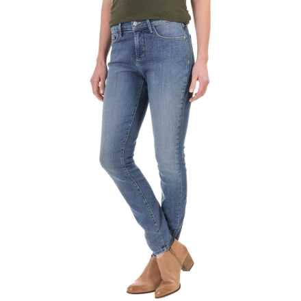 NYDJ Ami Super-Skinny Denim Leggings - Rhinestone Pockets (For Women) in Helton Wash - Closeouts