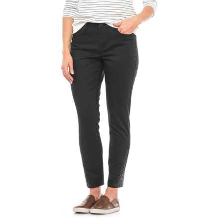 NYDJ Amira Ankle Jeans - Slim Fit (For Women) in Black - Closeouts