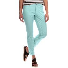 NYDJ Anabelle Ankle Pants - Boyfriend Fit (For Women) in Aqua Splash - Closeouts