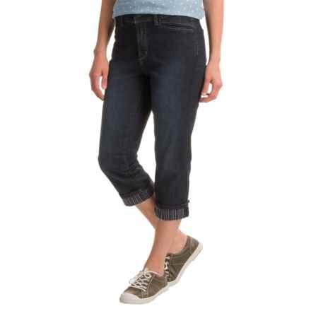 NYDJ Ariel Crop Pants (For Women) in Burbank Wash - Closeouts