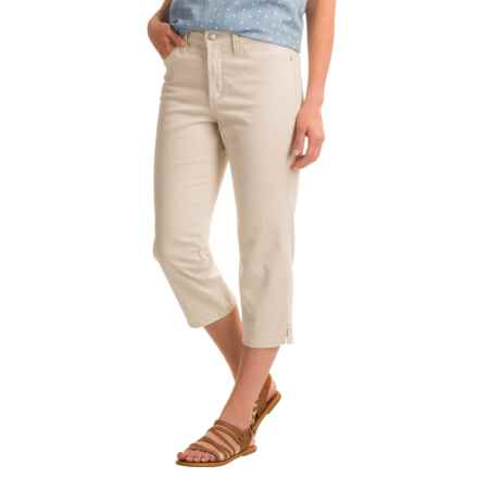 NYDJ Ariel Crop Pants (For Women) in Clay - Closeouts