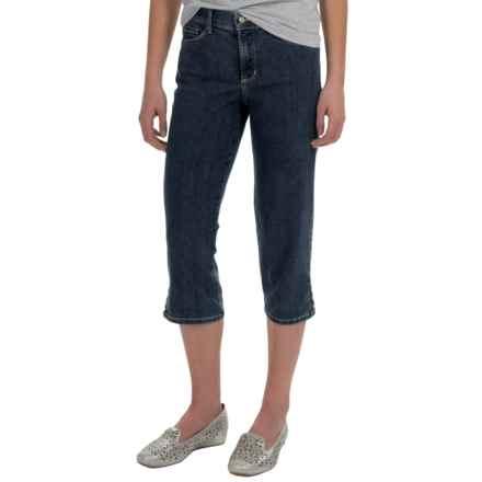 NYDJ Ariel Rivet-Trim Crop Jeans (For Women) in Burbank Wash - Overstock