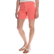 NYDJ Avery Shorts (For Women) in Bright Melon - Overstock