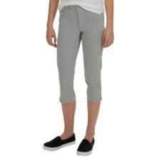 NYDJ Bella Crop Pants (For Women) in Moonstone Grey - Overstock