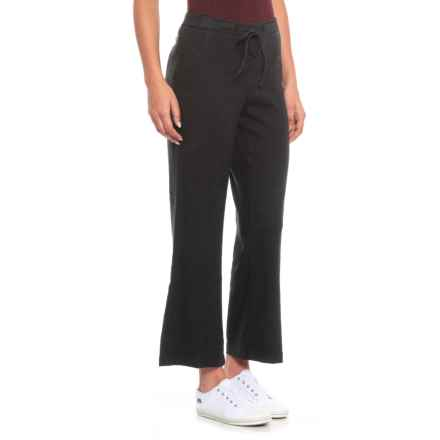 NYDJ Black Drawstring Ankle Pants (For Women) in Black - Closeouts