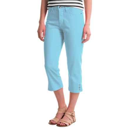 NYDJ Bull Denim Ariel Crop Pants (For Women) in Sheltering Sky - Closeouts