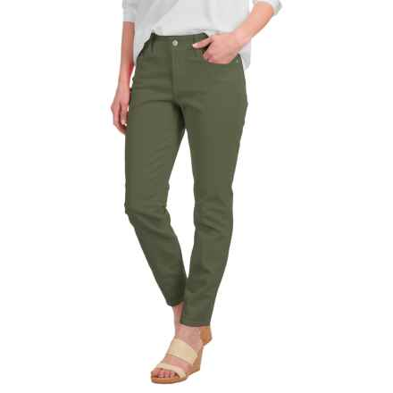 NYDJ Clarissa Solid Ankle Jeans (For Women) in Fatigue - Closeouts