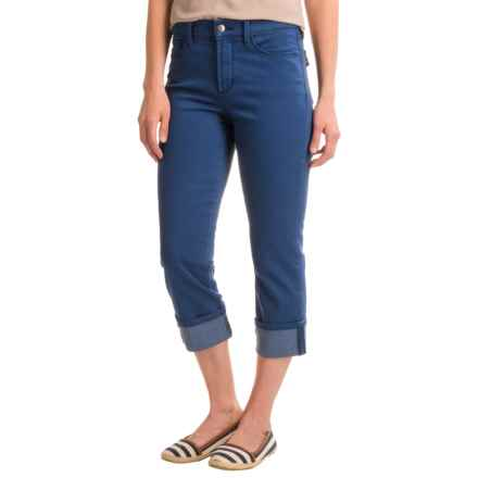 NYDJ Dayla Wide-Cuff Capris (For Women) in Fort Wayne - Closeouts
