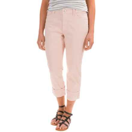 NYDJ Dayla Wide Cuff Capris (For Women) in Rose Water Blush - Closeouts