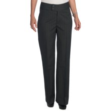 NYDJ Double Button Trouser Pants (For Women) in Grey - Closeouts