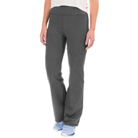 NYDJ Fit Solution Trainer Baby Yoga Pants - Bootcut (For Women) in Heather Grey - Closeouts