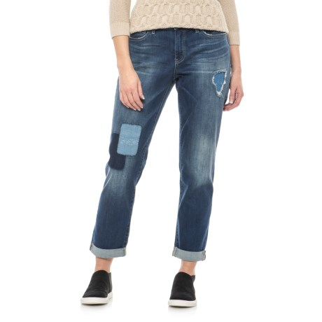 NYDJ Jessica Relaxed Boyfriend Jeans (For Women) in Uzes