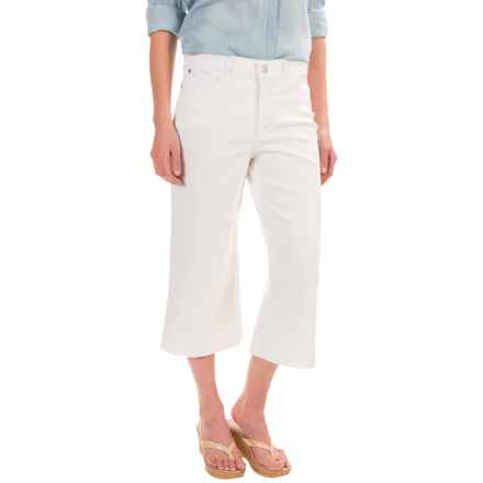 NYDJ Kate Culotte Pants (For Women) in Spotless White - Closeouts