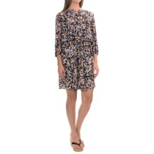 NYDJ Lauren Dress with Removable Shapewear Lining - 3/4 Sleeve (For Women) in Paint Splash - Closeouts