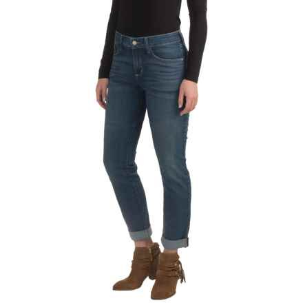 NYDJ Leann Stretch Boyfriend Jeans - Cuffed (For Women) in Inwood - Closeouts
