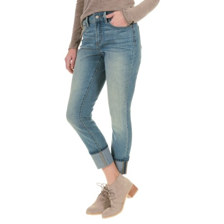 NYDJ Lorena Skinny Boyfriend Jeans (For Women) in Eagle Rock Wash