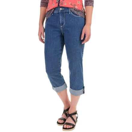 NYDJ Lyris Cuffed Capri Jeans (For Women) in Maryland Wash - Overstock