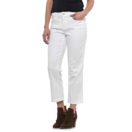 NYDJ Marilyn Capris (For Women) in Endless White - Closeouts