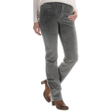 NYDJ Marilyn Corduroy Pants - Straight Leg (For Women) in River Rock - Overstock