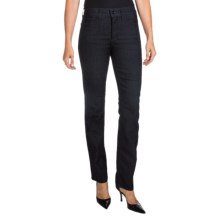 NYDJ Marilyn Jeans - Straight Leg (For Women) in Dark Enzyme - Closeouts