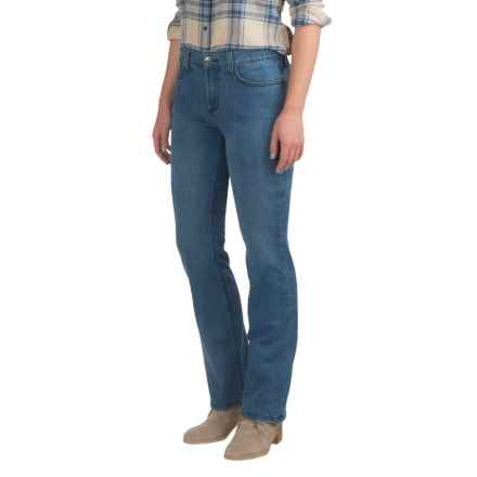 NYDJ Marilyn Lightweight Jeans - Straight Leg (For Women) in Newberry Wash - Closeouts