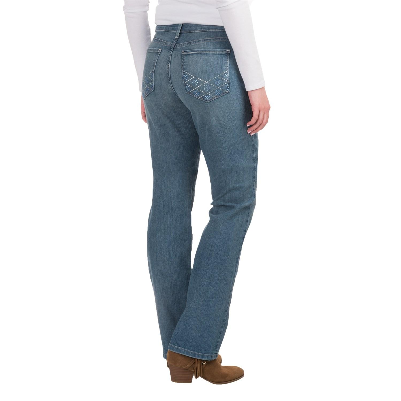 NYDJ Marilyn Lightweight Straight-Leg Jeans (For Women)