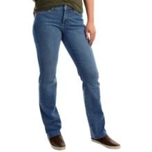 NYDJ Marilyn Straight-Leg Jeans (For Women) in Modesto Wash - Overstock