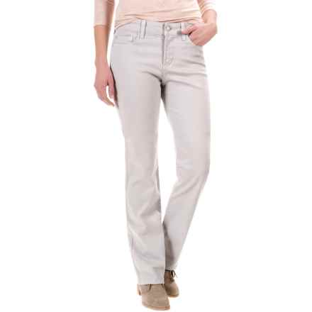 NYDJ Marilyn Straight-Leg Jeans (For Women) in Pearl Grey - Closeouts