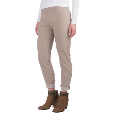 NYDJ Millie Twill Ankle Leggings - Pull-On (For Women) in Oatmeal - Overstock