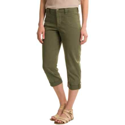 NYDJ Morgan Crop Pants (For Women) in Fatigue - Closeouts