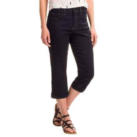 NYDJ Nanette Crop Pants (For Women) in Dark Enzyme Wash - Closeouts