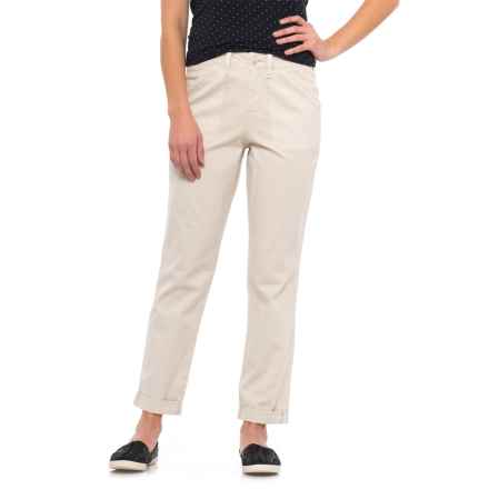 NYDJ Relaxed Cuffed Chino Pants (For Women) in Clay - Closeouts