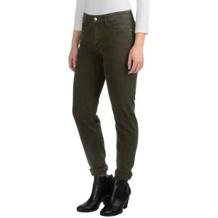 NYDJ Samantha Lightweight Jeans - Slim Fit (For Women) in Green Thorn - Closeouts