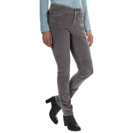 NYDJ Samantha Slim Corduroy Pants (For Women) in River Rock - Closeouts
