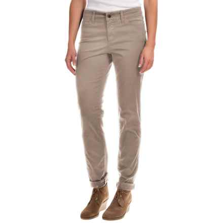 NYDJ Samantha Slim Fine Twill Pants (For Women) in Sparrow - Overstock