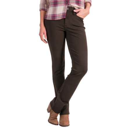 NYDJ Samantha Slim Pants (For Women) in Molasses - Closeouts