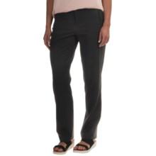 NYDJ Sandrah Slim Pants (For Women) in Black - Overstock