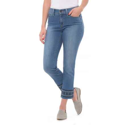 NYDJ Sheri Slim Ankle Jeans (For Women) in Evansdale Wash - Closeouts