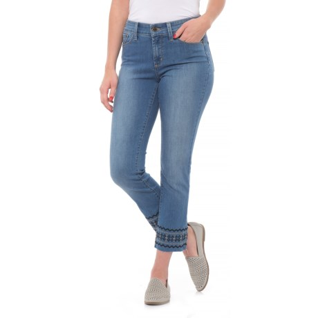 NYDJ Sheri Slim Ankle Jeans (For Women) in Evansdale Wash