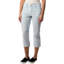 NYDJ Svetlana Capris - Skinny Fit (For Women) in Denim Ditsy - Closeouts